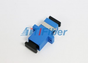 Female Fiber Optic Adapter SC Simplex And Duplex For Optical Fibre Patch Cords