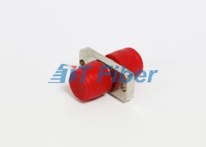 Metal Housing FC Fiber Optic Adapter For CATV Network , Male Female Adapter