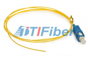 Big discounting 100gig Fiber Patch Cable - SC Single mode Fiber Optic Pigtail with UPC APC Polishing Fiber Ferrule – TTI