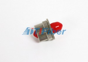 Singlemode FC Variable Fiber Optic Attenuator 1 ~ 30dB Adjustable Type Structure
