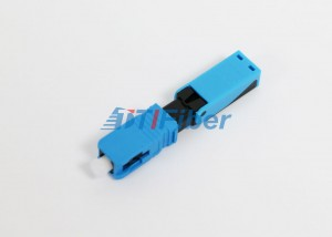 UPC Precision Ceramic Ferrule SC Fast Fiber Optic Connector for FTTH Drop Cable