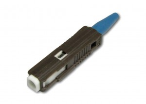 MU Simplex Duplex Fiber Optic Connector for OM3 OM4 Fiber Optic Cable