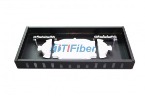 SC / APC ODF Fiber Optic Panel with 12 core Optical Fiber Pigtail