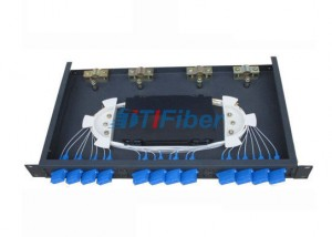 Fiber Optic Termination Box ODF Box For SC FC LC Fiber Adapters