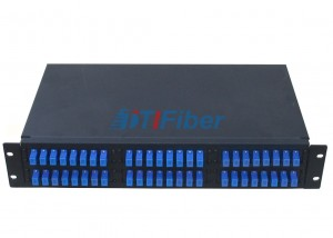 "Fixed 19"" Fiber Optic Patch Panel ODF Box for Rack Mount Cabinet"