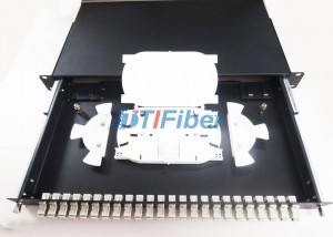 Multimode SC Duplex Fiber Optic Terminal Box for FTTH Optical Solution