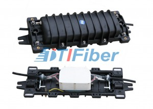 288 Core In – line Fiber Optic Splice Closure with MPP Plastic Housing