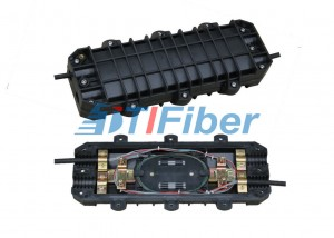 48 Core Aerial Fiber Optic Splice Closure for Duct / Direct Buried
