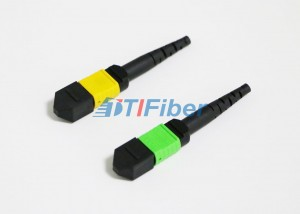 12 Core MPO / MTP Fiber Optic Connector for Fib...