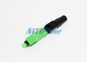 Fiber Field Assembly FTTH SC / UPC Fiber Optic Cable connectors