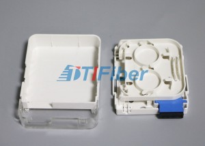 SC Duplex Wall Mounted Fiber Optic Terminal Box for SM Fiber