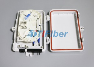 FTTH Optical Fiber Termination Box With 4port SC LC Fiber Optic Connectors