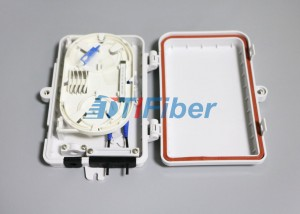 FTTH Mini Outdoor Fiber Optic Distribution Box 1×4 PLC
