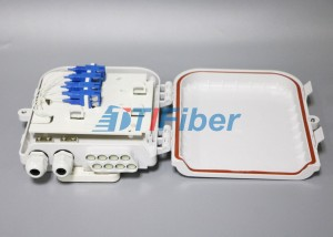 Networks FTTH Distribution Box SC 8 Port Waterproof  , Fiber Termination Box