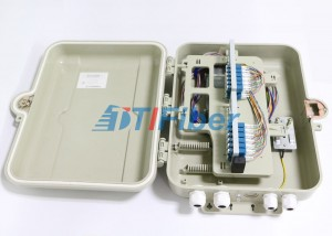 48 Core FDB Fiber Optic Distribution Box with 1*32 PLC Fiber Optic Splitter