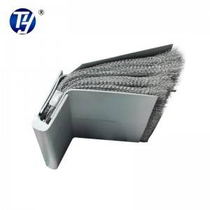 Tunnel boring machine wire brush/tail sealing brush/tail skin brush/tail steel plates/welding tail brush/
