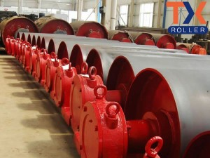 18 Years Factory Rubber Ceramic Pulley Lagging - Drum Pulley – TongXiang