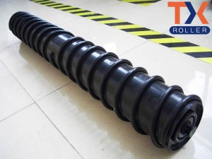 Factory Price For Conveyor Steel Rollers - Steel Spiral Return Roller – TongXiang