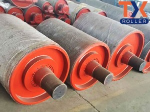 Personlized Products Rubber Lagging Conveyor Belt Pulley - Head Pulley – TongXiang