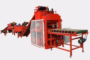 Automatic TY4-10 clay block making machine