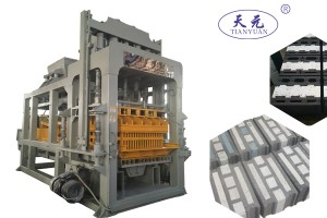 ESP / Polystyrene insert insulation block making machine