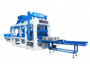 Hot sale QTY8-15 fully automatic block making machine with CE ISO certificate