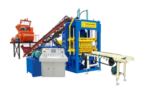 QTY4-15C Concrete brick making machine