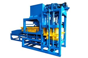 Manufactur standard China Germany Technology Diesel Engine Qt 4-30 Hydraulic Brick Making Machine Concrete Hollow Block Machine in Bangladesh