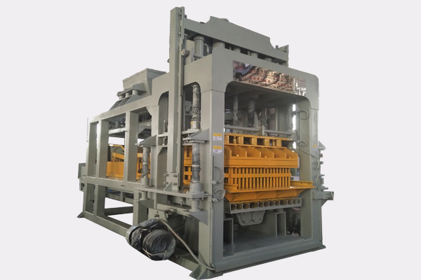 QTY10-15 Automatic concrete block making machine Featured Image