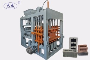 Concrete automatic block making machine QTY6-15 for blocks and bricks
