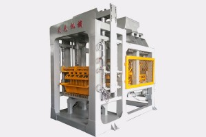 Promotion model QTY6-15A automatic concrete block machine