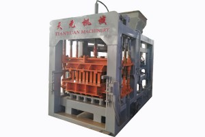 Factory recommend model QTY6-15 automatic block machine