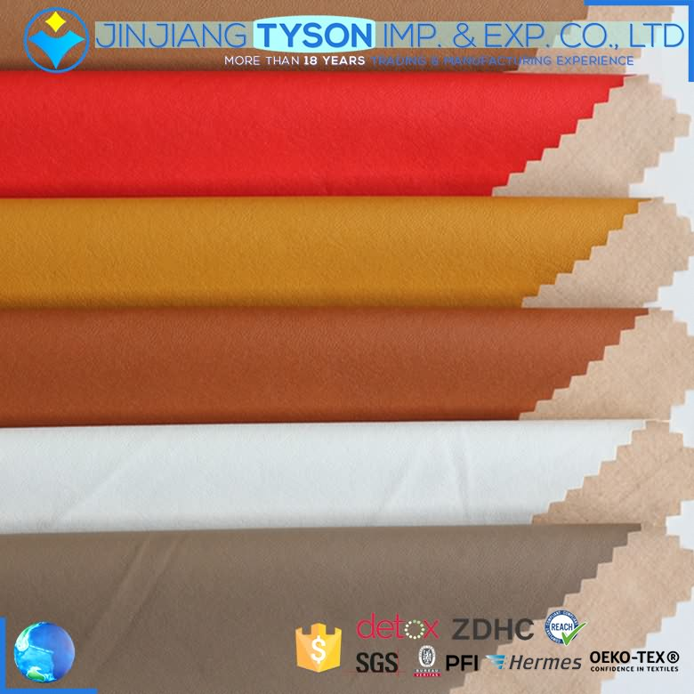 Factory wholesale price rexine imitation garment thin pu leather fabric