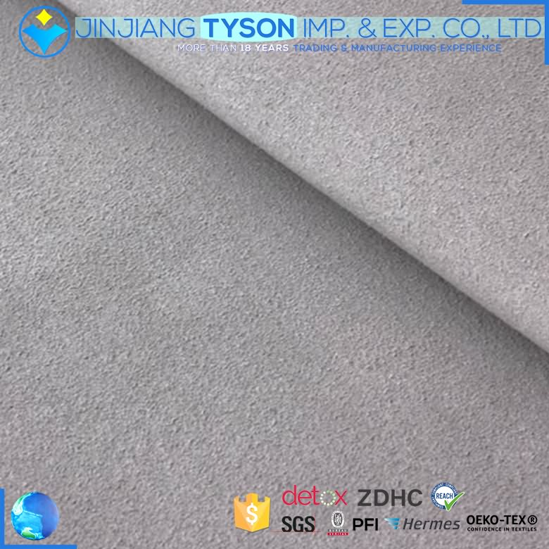 China manufacturer pu suede microfiber synthetic leather