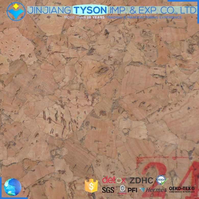 Wholesale marketable 0.6mm wood surface natural leather fabric