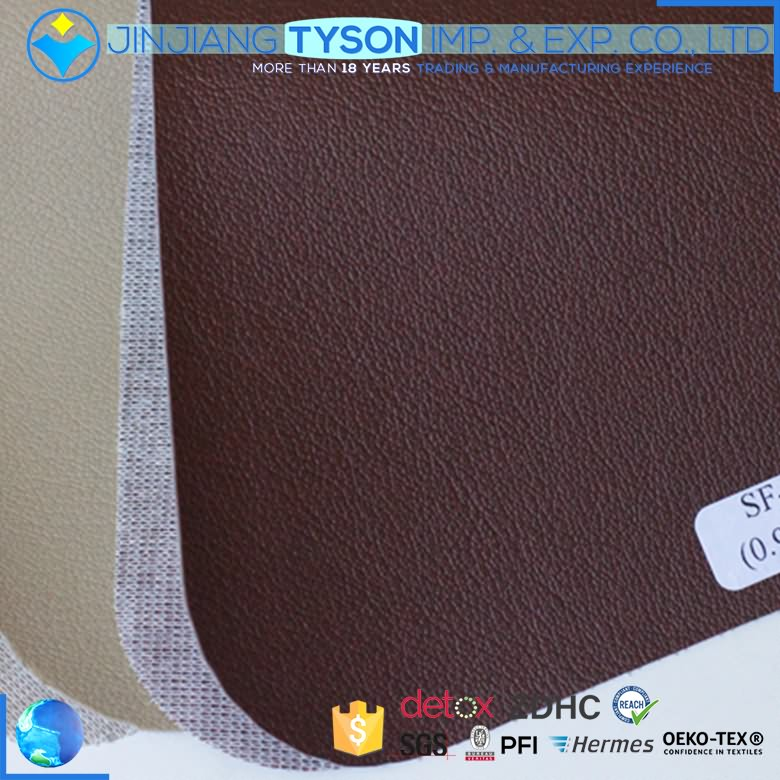 Custom design car upholstery making embossed pattern pvc synthetic leather