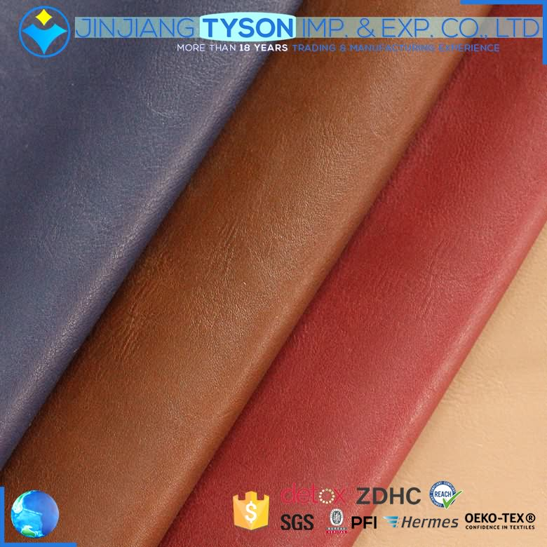 Multicolor embossed design artificial pu synthetic leather fabric for making shoes