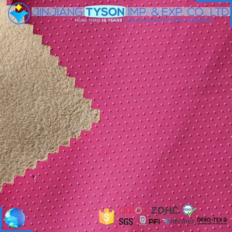 Factory price customized colors PU rexine leather roll for garment material