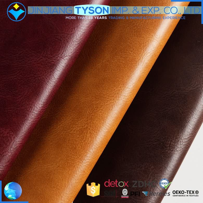 China cheap price meter shoes making 1.0mm PU artificial synthetic leather