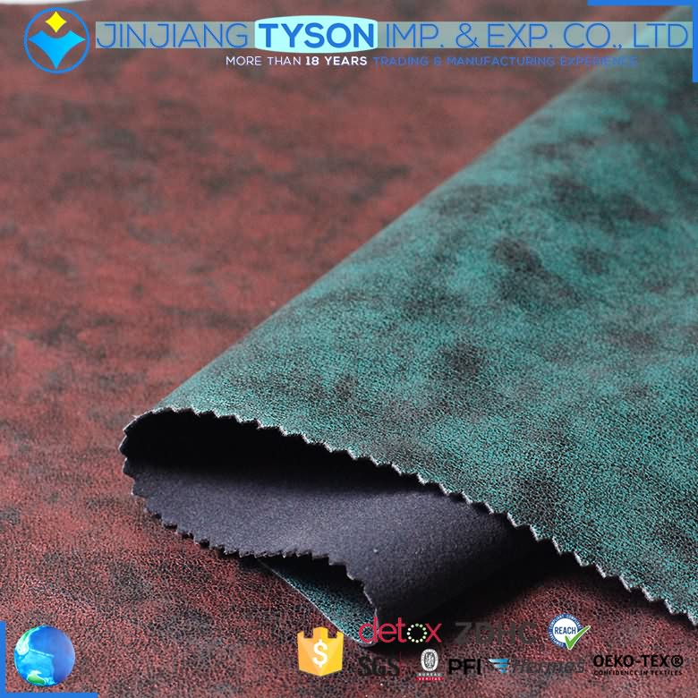 Low MOQ for Microfiber Leather For Seat Cover -