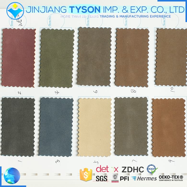 Quality eco friendly high quality pu waterbase synthetic yanbuck leather