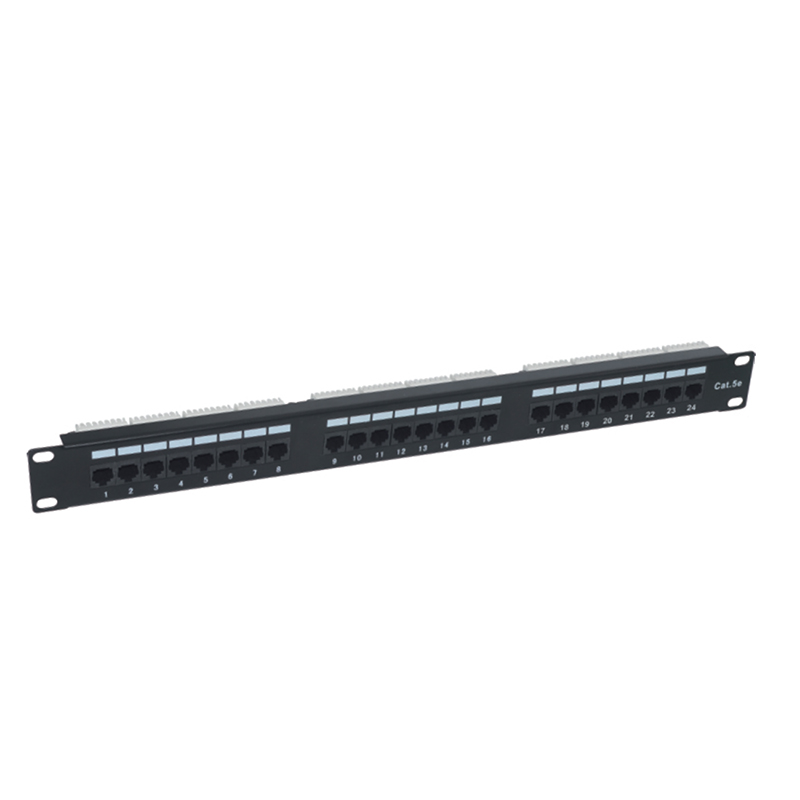 Fast delivery Black Color Am Cat6 Modular Patch Panel 24 Port -