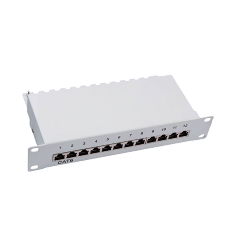 Best-Selling Pn-15 1u Utp Krone Idc 24 Port Cat5e Patch Panel Featured Image