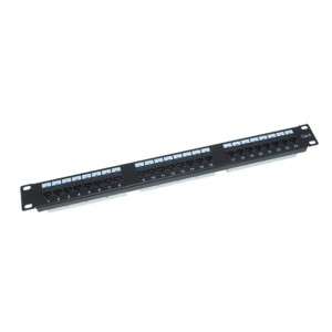 Online Exporter Hot Sale Superior Listed 24 Ports Cat6 Patch Panel