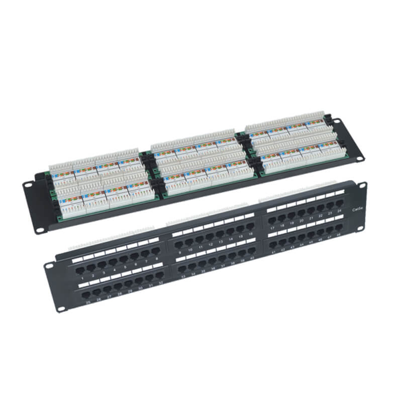 Discountable price Cat6 Patch Panel 24 Port -