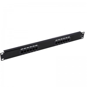 OEM China 1u 19 Inch 24 Port Patch Panel Rack Mount