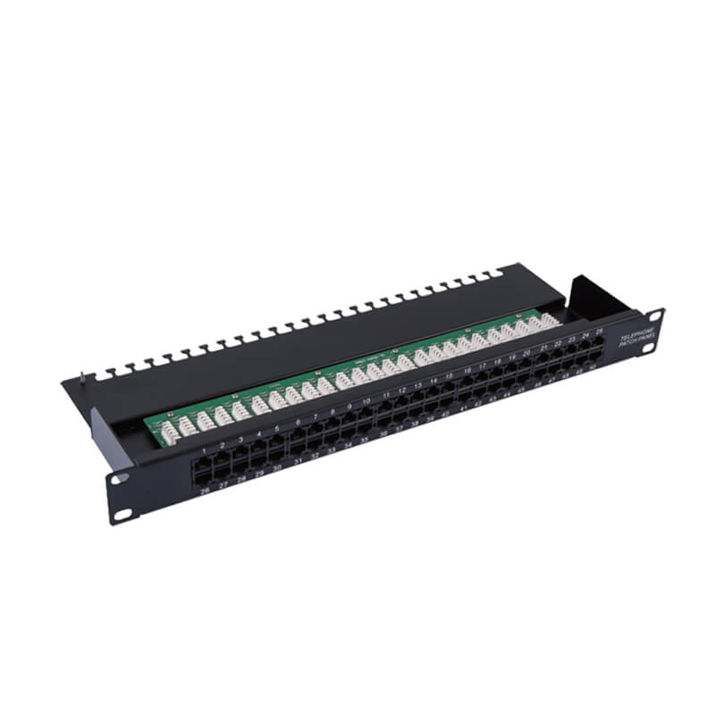 Chinese Professional Unshielded Cat6 48 Port Patch Panel -