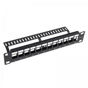 CAT5E Patch Panel UNPP068BLK