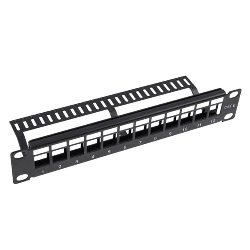 Factory Promotional Cixi Network Patch Panel Rack -