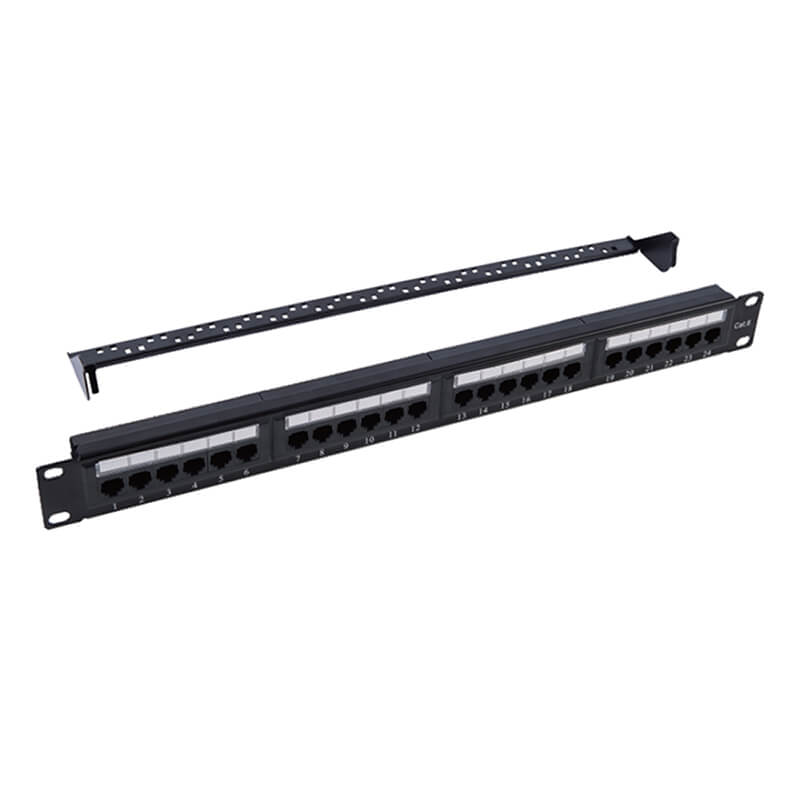 Best Price on Cat5e Stp Patch Panel -